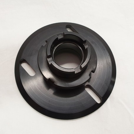 Top mount complete with threaded tube and ring nut BMW M3 E30