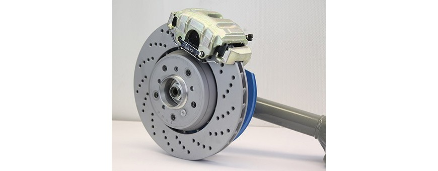 Brake system, disc brake, pads, calipers for BMW M3 Motorsport
